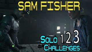 Solo 1-3 Uitdagingen: Sam Fisher Operatie Watchman Mission 🞔 Ghost Recon Wildlands 🞔