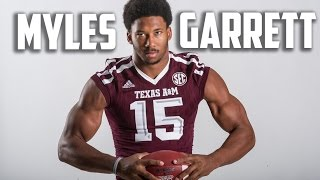 Most Explosive Defensive End in all of College Football  Myles Garrett  Highlights ᴴᴰ