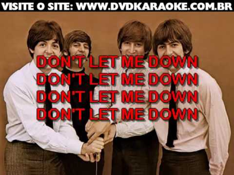 Beatles, The   Don't Let Me Down