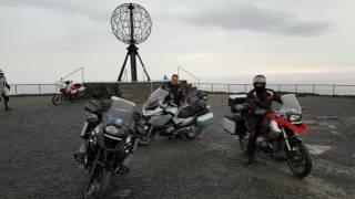 Nordkap Motorradtour 2016