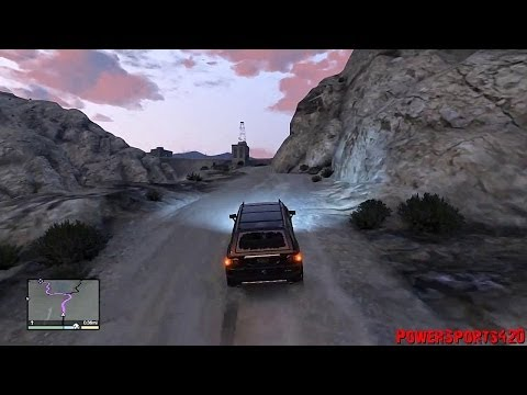Lets Play GTA V - Episode 052 - The Karin BeeJay XL Is NOT A Good Off-Road Vehicle