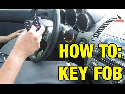 Keyless Remote Programming Replacement Key Keyfob Nissan