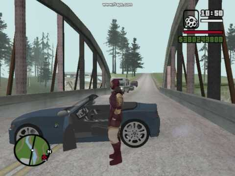 GTA San Andreas:Iron Man shows you a few mods