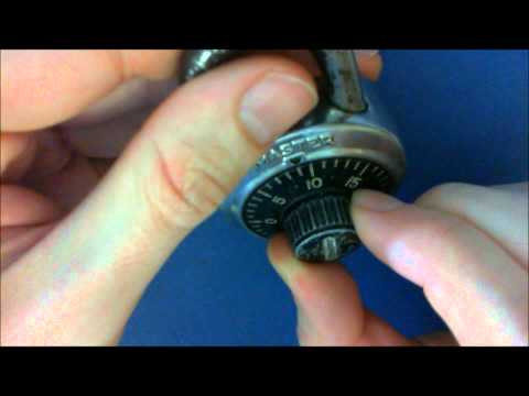 Cracking a Master Combination Lock