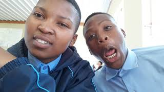 Tseki High school young swag squad  feeling lonely Afrikaans period