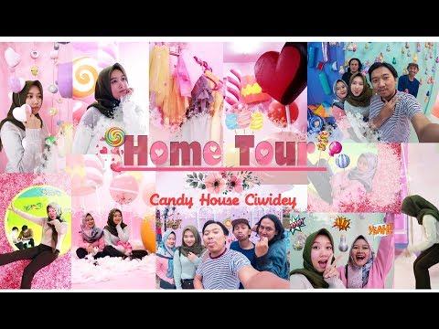 HOME TOUR ( Candy House Ciwidey ) Wisata di Bandung | FITRI FIDIANTI
