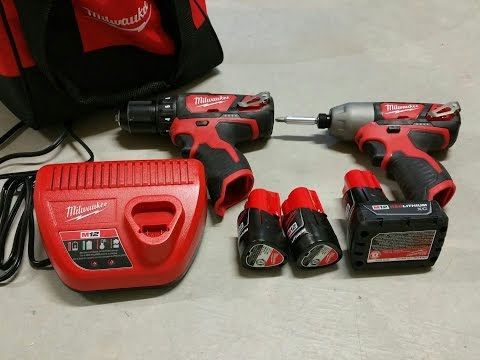 Milwaukee M12 Drill Driver Combo Torque Test