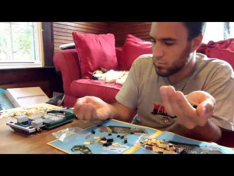 Lego Mini Cooper Live Build