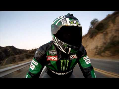 Motorcycle Leather Jacket. TurnBull Canyon. Going Down Hill. GoPro 960 HD Video Test. VLOG