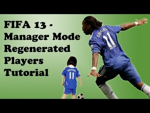FIFA 13 - Regenerated Players In Manager Career Mode - Glitch Tutorial