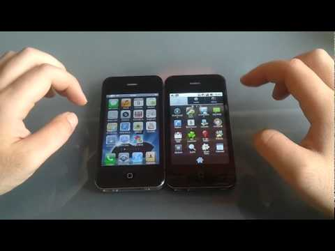 !!NEW!! iPhone 4 *clone* with Android 2.3 !!NEW!! Music Videos