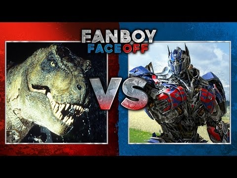 Jurassic Park vs Transformers: Fanboy Faceoff