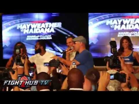 Broner vs Molina Adrien Broner grand arrival at MGM Grand
