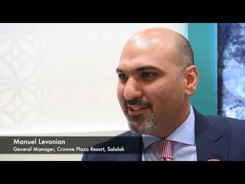 Manuel Levonian, general manager, Crowne Plaza Resort, Salalah