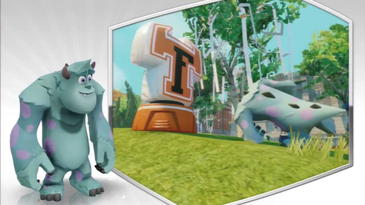 Disney Infinity Characters Sulley Disney Infinity Sulley