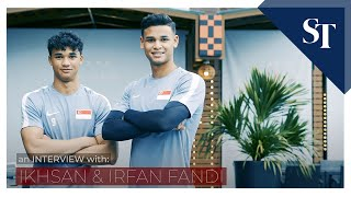 Get to know Irfan and Ikhsan Fandi | The Straits Times