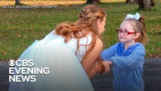 5-year-old gwith autism mistakes bride for Cinderella