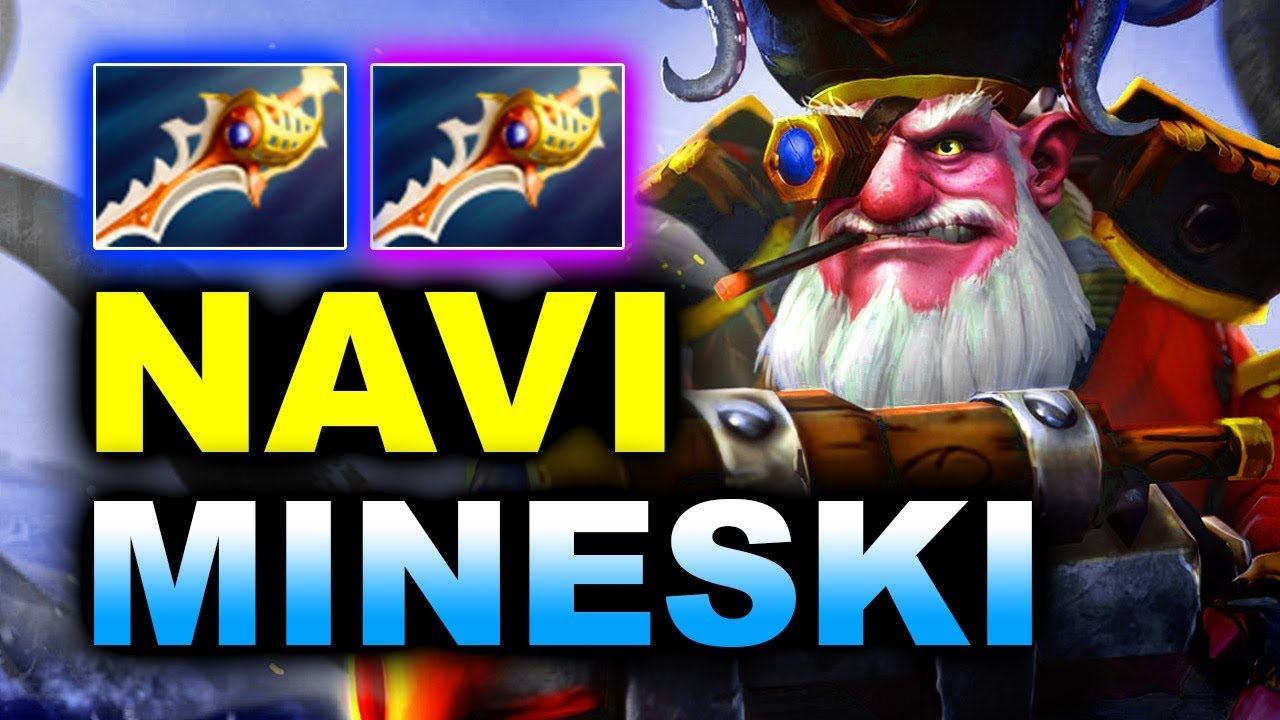 NAVI vs MINESKI - 2x RAPIERS SEMI-FINAL - ESL ONE MUMBAI 2019 DOTA 2
