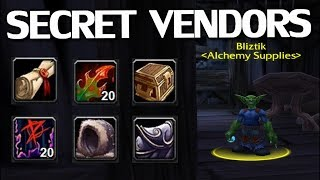 Hidden & Secret Vendors in WoW Classic