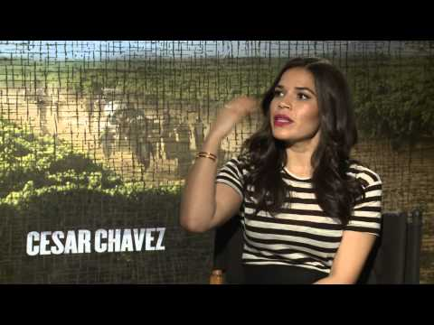 Interview with America Ferrera for Cesar Chavez - Just Seen It