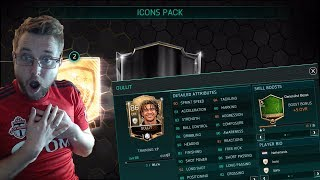 FIFA Mobile 18 Icons Are Back! Gullit, Puyol, and Deco! Icon Bundle Opening and Gameplay!