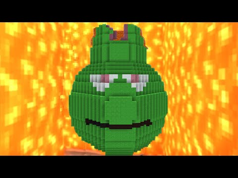 Minecraft vs Zombies   LAVA GUAVA!! (Eruption!)   PvZ  Land