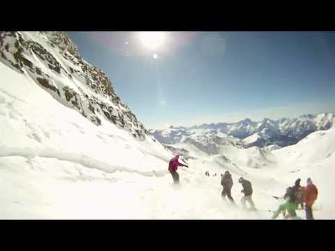 France Snowboarding Trip GoPro HD short ver.
