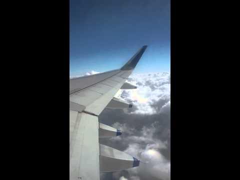 Indigo airlines flite on clouds