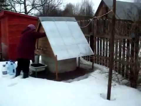 Бюджетный водопровод на даче