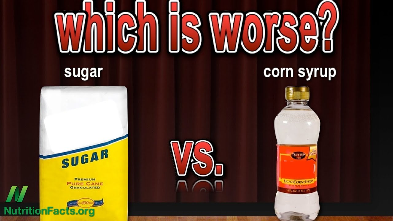 Sugar vs. Corn Syrup