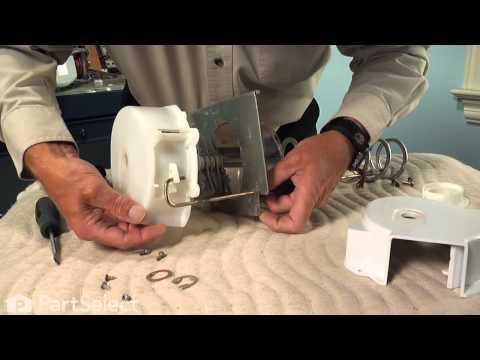 Refrigerator Repair - Replacing the Dispenser Crusher Housing (Frigidaire Part # 241885001)