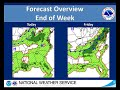 NWS Peachtree City Weekly Weather Briefing (July 5, 2018)