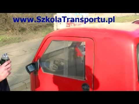 Ciekawy Pojazd Trójkołowiec We Wrocławiu