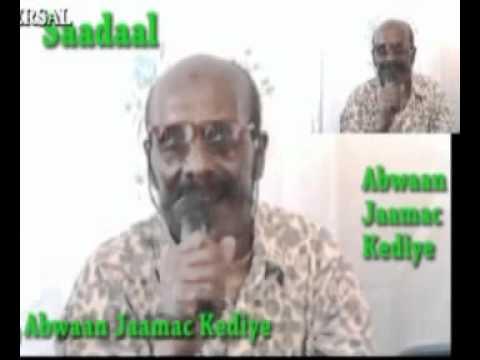 Abwaan Jaamac Kediye iyo gabayga saadaal!- YouTube.FLV