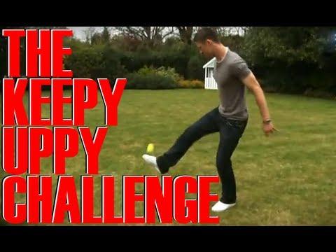 Gary Cahill keepy uppy | FATV Challenge