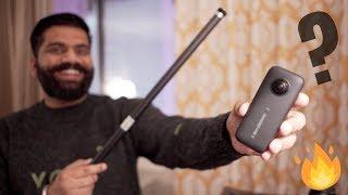 Insta360 One X 360 Camera + Longest Selfie Stick Unboxing & First Look  🔥🔥🔥