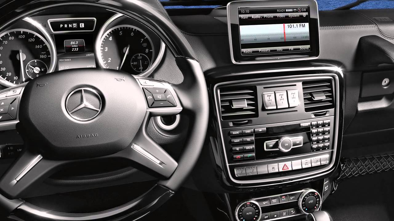 G class interior features mercedes benz suv youtube for Mercedes benz usa com