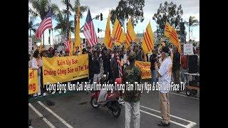 Bieu Tinh chong TT Thuy Nga & Viet Face TV