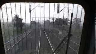 Must watch Driver View WAP7 Howrah Rajdhani overtaking and Signal confirmations