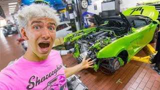 GRACE SHARER DESTROYED THE LAMBORGHINI SHARERGHINI (THIS IS BAD!!)
