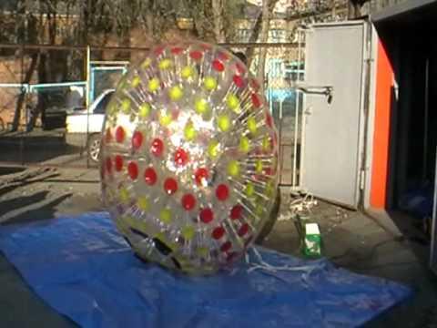 Ядерный зорб - шар качественный аналог Nuclear globe