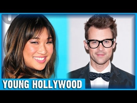 GLEE's Jenna Ushkowitz Gets Styled By Brad Goreski For The Emmys!