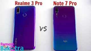 Realme 3 Pro vs Redmi Note 7 Pro SpeedTest and Camera Comparison