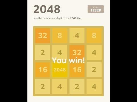 Win '2048' Game : Tips & Tricks / Demonstration