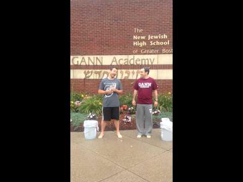 Gann Academy Ice Bucket Challenge - 08/13/2014