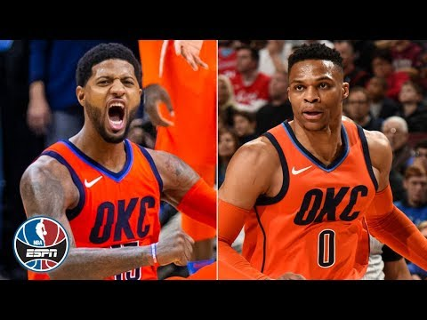 Download Lagu  Paul George has 31 & game-winning 4-point play in Thunder's thrilling win vs. 76ers | NBA Highlights Mp3 Free