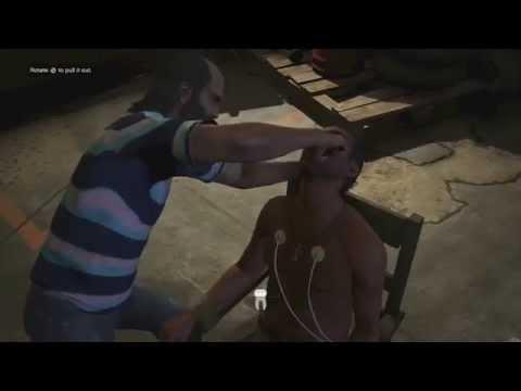 GTA 5 -  Most Brutal Mission! Trevor Insane Torture! (Grand Theft Auto V Gameplay)