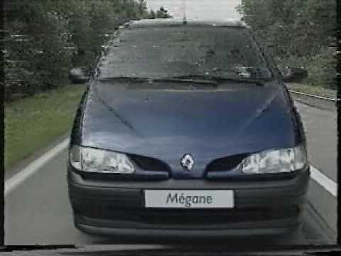 video promocional renault megane scenic fase 1 youtube. Black Bedroom Furniture Sets. Home Design Ideas