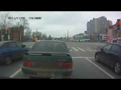 Подборка аварий на видеорегистратор за октябрь — ноябрь 2011