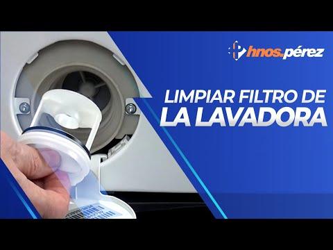 C mo limpiar el filtro de una lavadora youtube for Como eliminar cucarachas del desague